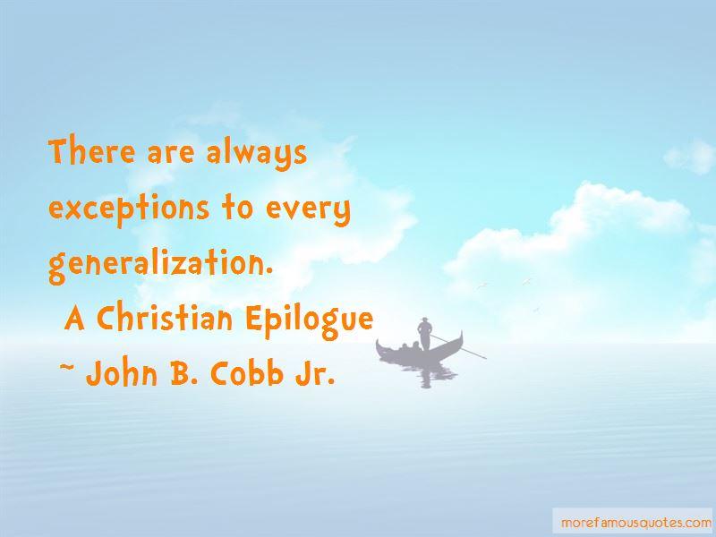 John B. Cobb Jr. Quotes