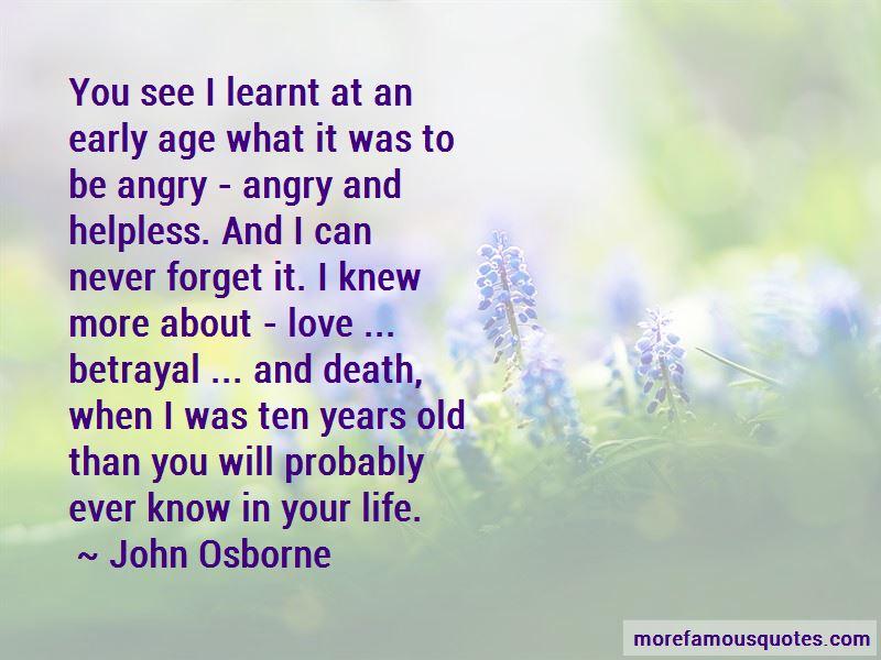 John Osborne Quotes