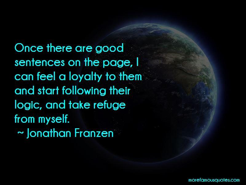 Jonathan Franzen Quotes