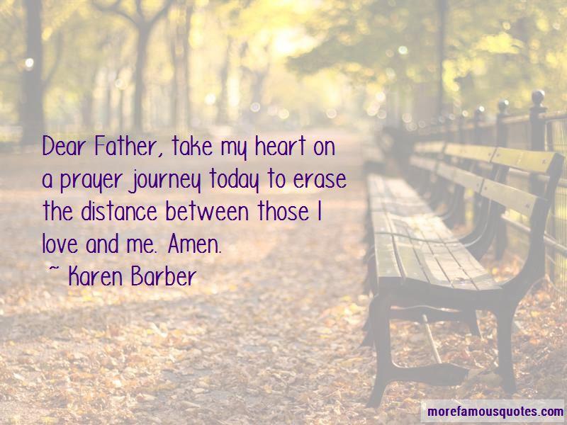 Karen Barber Quotes