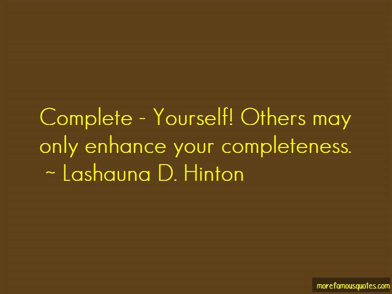 Lashauna D. Hinton Quotes Pictures 2