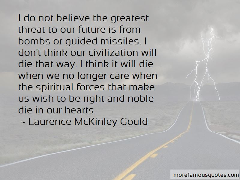 Laurence McKinley Gould Quotes