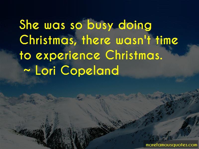 Lori Copeland Quotes Pictures 2