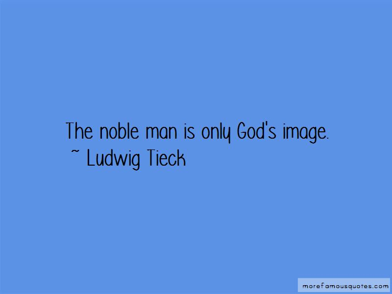 Ludwig Tieck Quotes