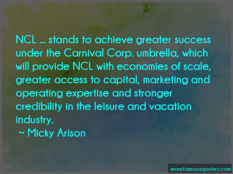 Micky Arison Quotes Pictures 2