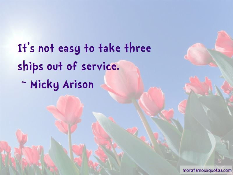 Micky Arison Quotes Pictures 3