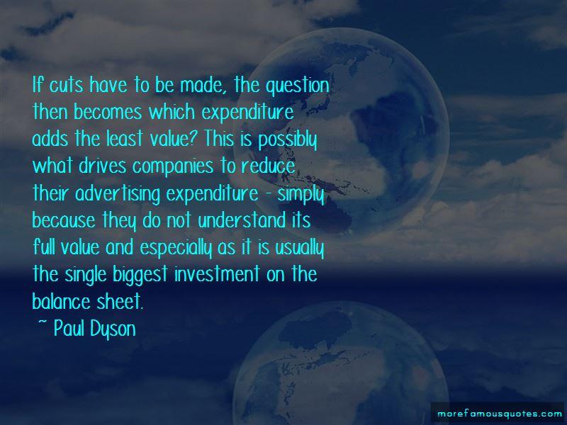 Paul Dyson Quotes