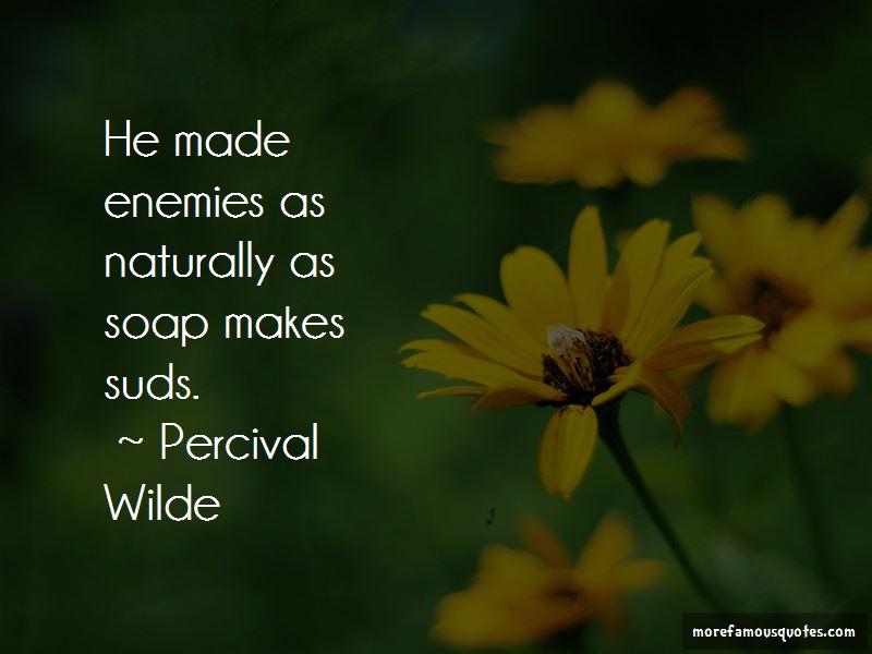 Percival Wilde Quotes