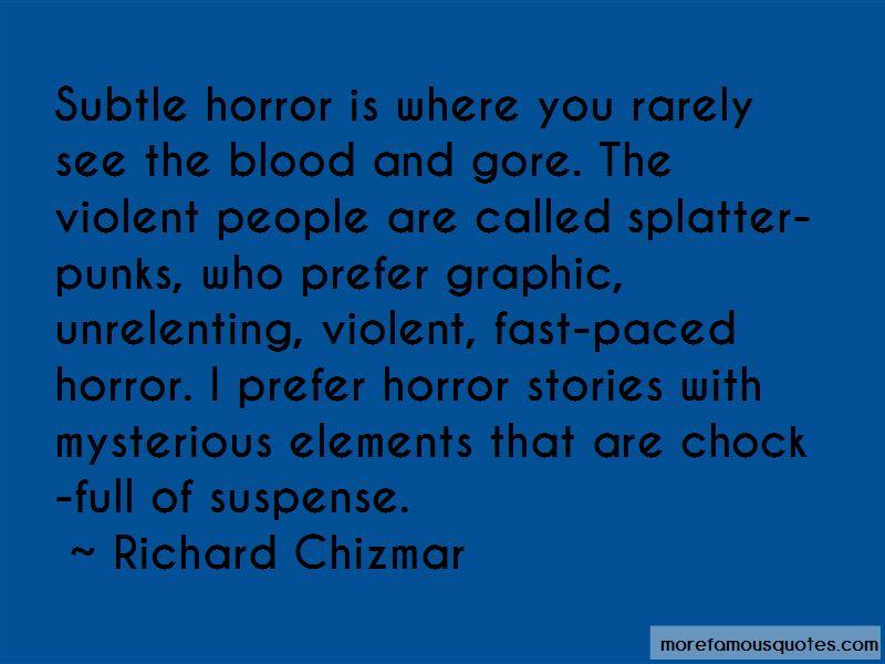Richard Chizmar Quotes