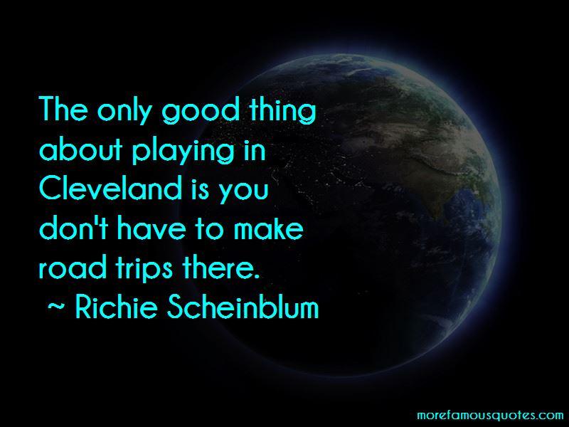 Richie Scheinblum Quotes