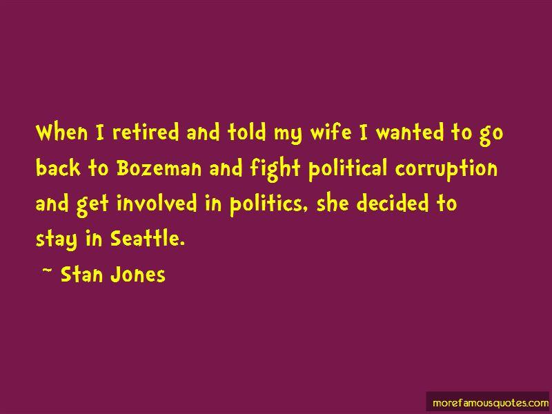Stan Jones Quotes