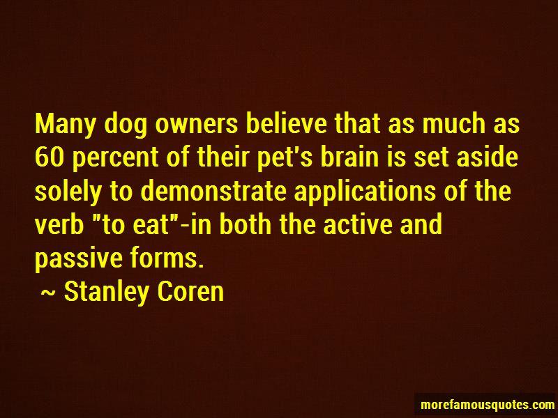 Stanley Coren Quotes Pictures 4