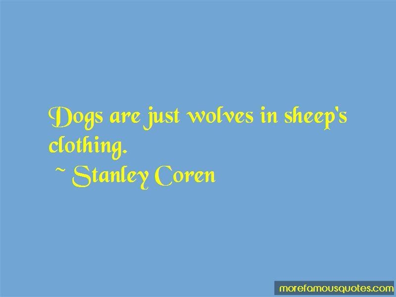 Stanley Coren Quotes