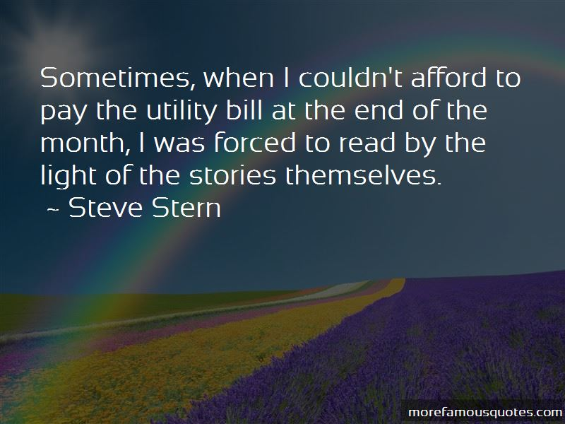 Steve Stern Quotes