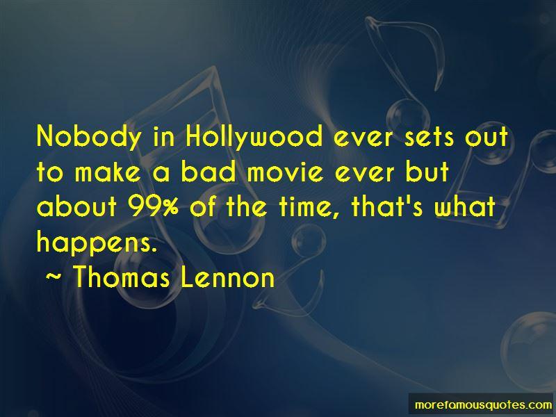 Thomas Lennon Quotes