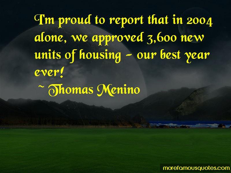 Thomas Menino Quotes