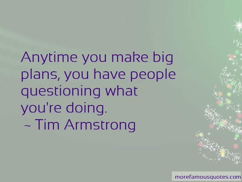 Tim Armstrong Quotes Pictures 2