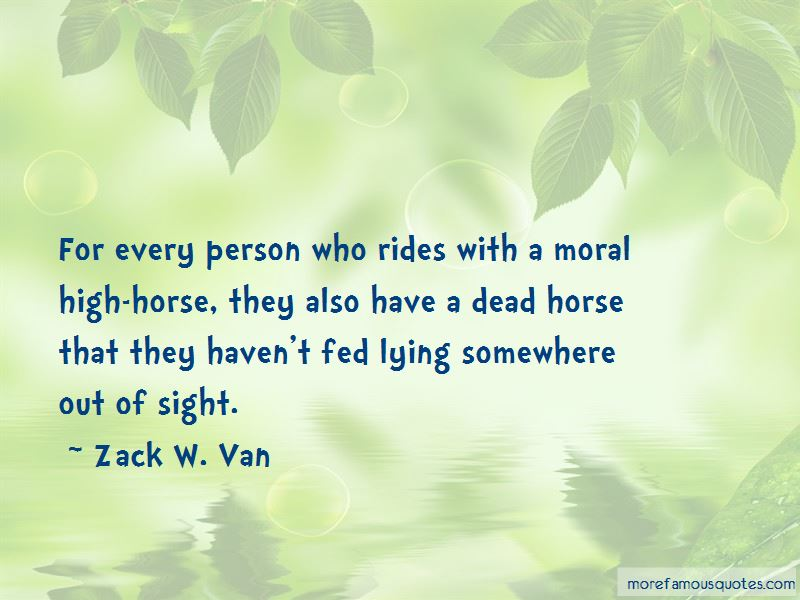Zack W. Van Quotes