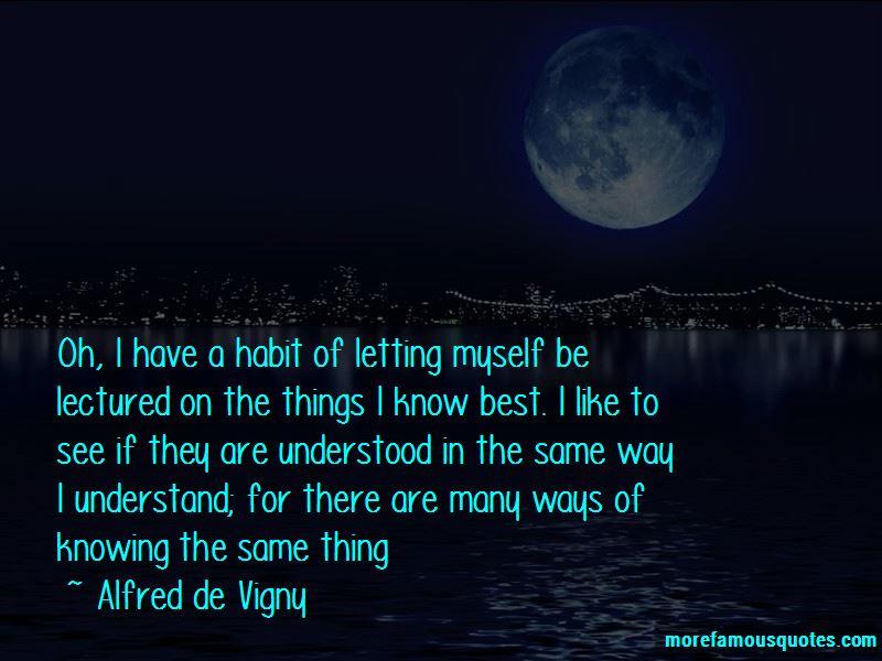 Alfred De Vigny Quotes