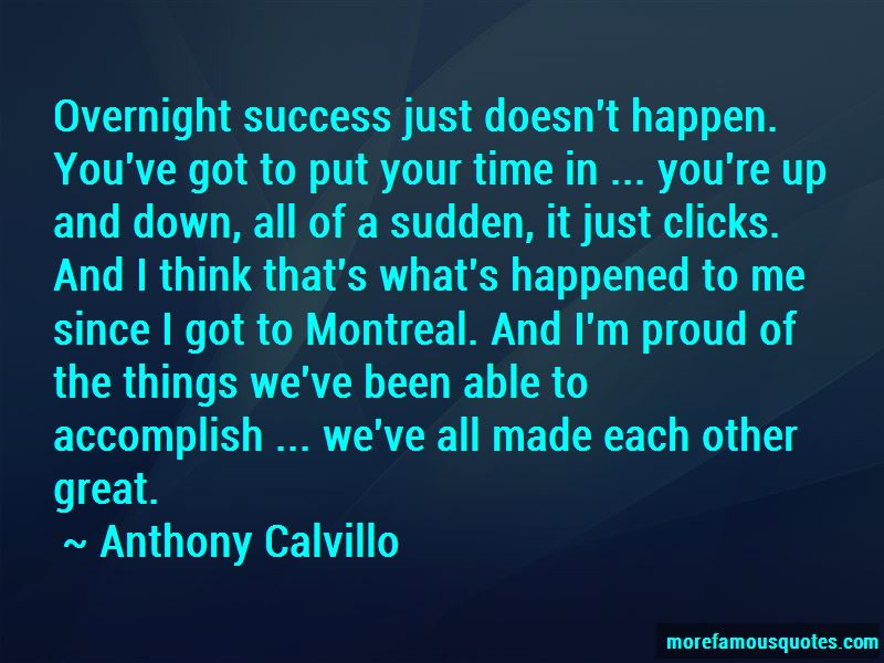 Anthony Calvillo Quotes Pictures 2