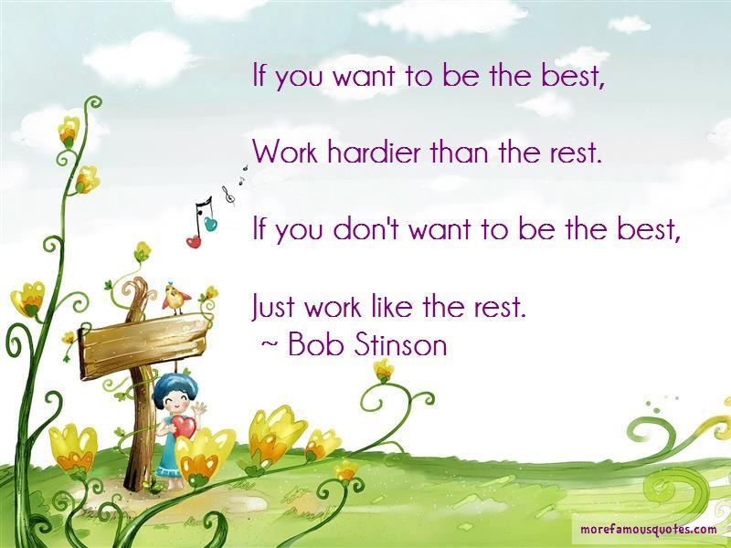 Bob Stinson Quotes