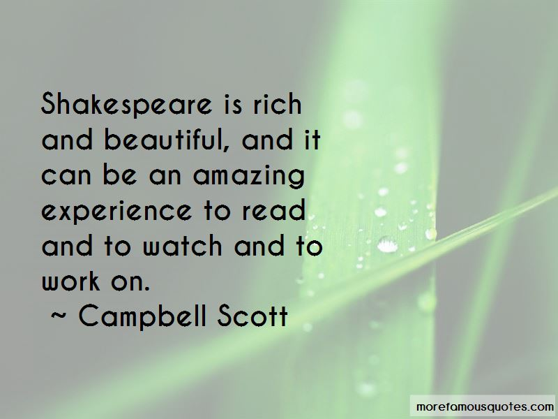 Campbell Scott Quotes Pictures 2