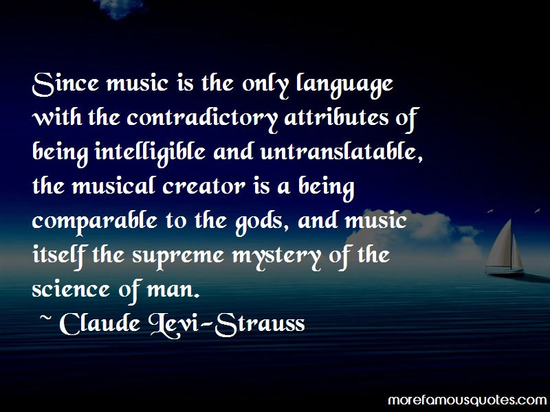Claude Levi-Strauss Quotes
