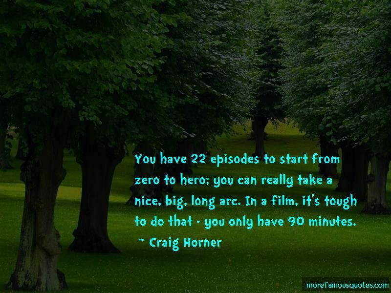Craig Horner Quotes Pictures 2