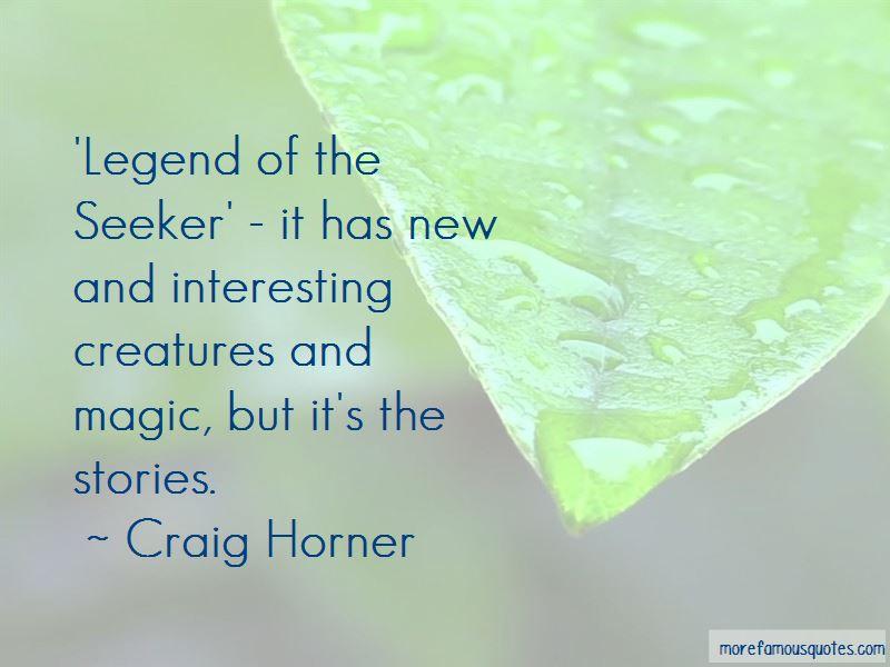 Craig Horner Quotes Pictures 3
