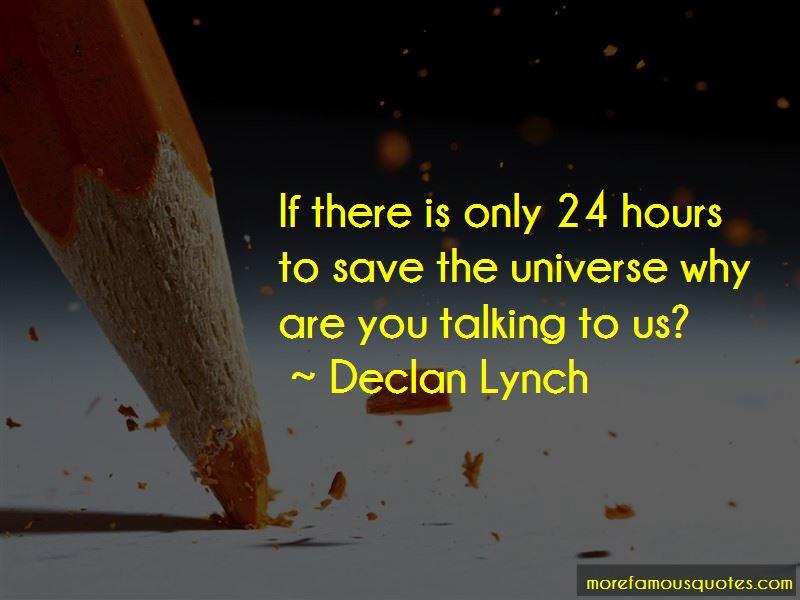 Declan Lynch Quotes