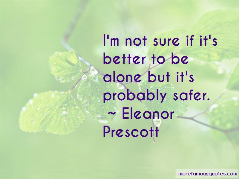 Eleanor Prescott Quotes