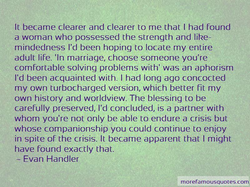 Evan Handler Quotes