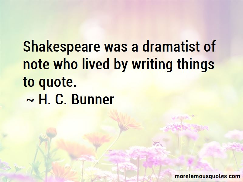 H. C. Bunner Quotes Pictures 2