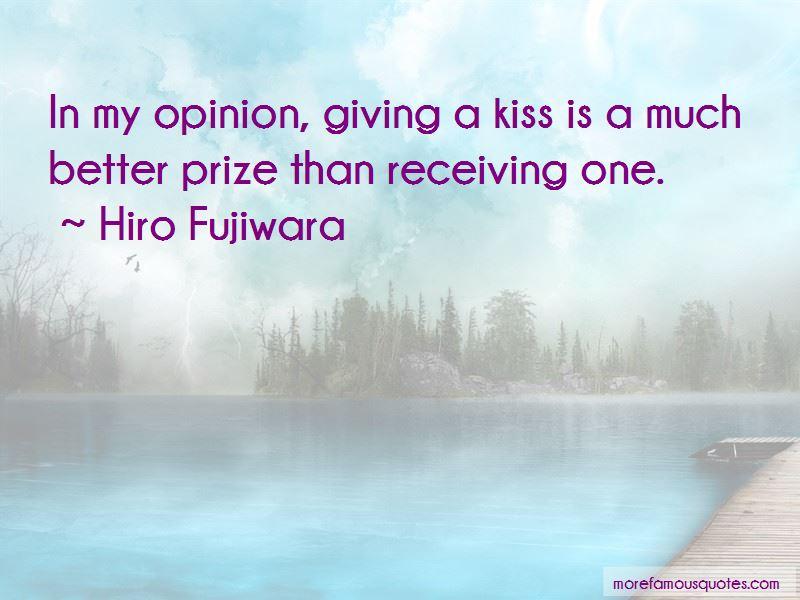 Hiro Fujiwara Quotes