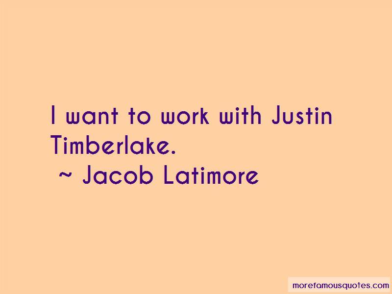 Jacob Latimore Quotes Pictures 3