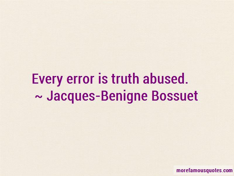 Jacques-Benigne Bossuet Quotes