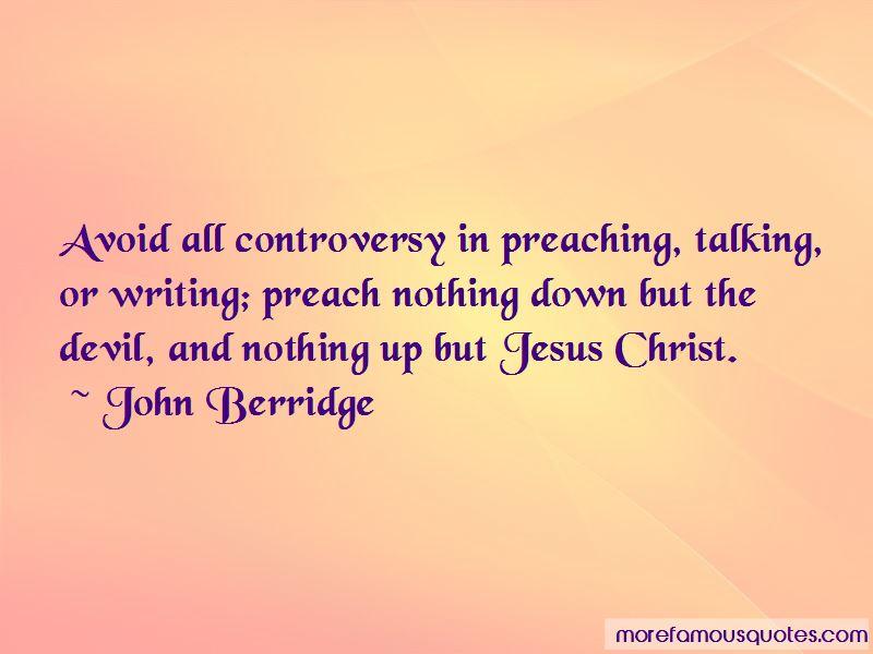 John Berridge Quotes