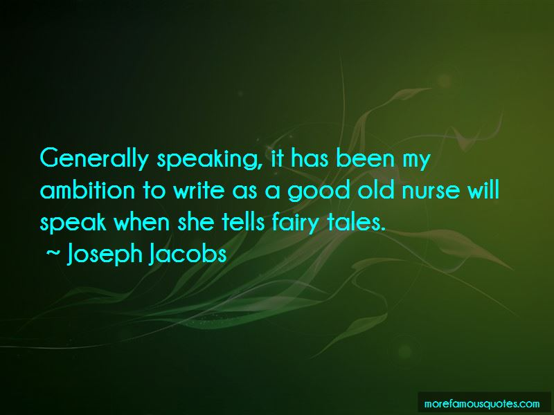 Joseph Jacobs Quotes Pictures 3