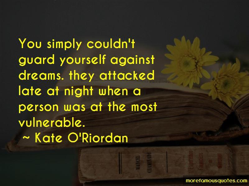 Kate O'Riordan Quotes