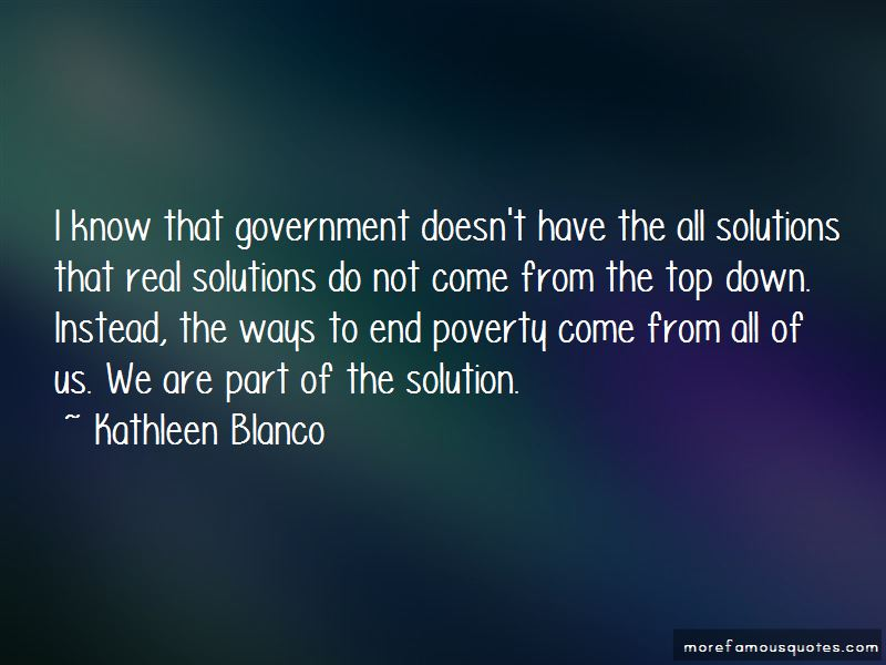 Kathleen Blanco Quotes Pictures 4