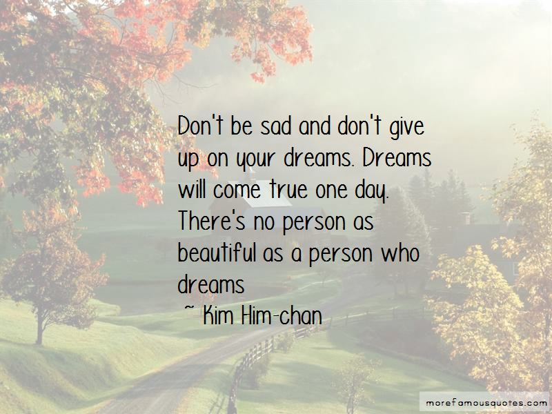 Kim Him-chan Quotes Pictures 2
