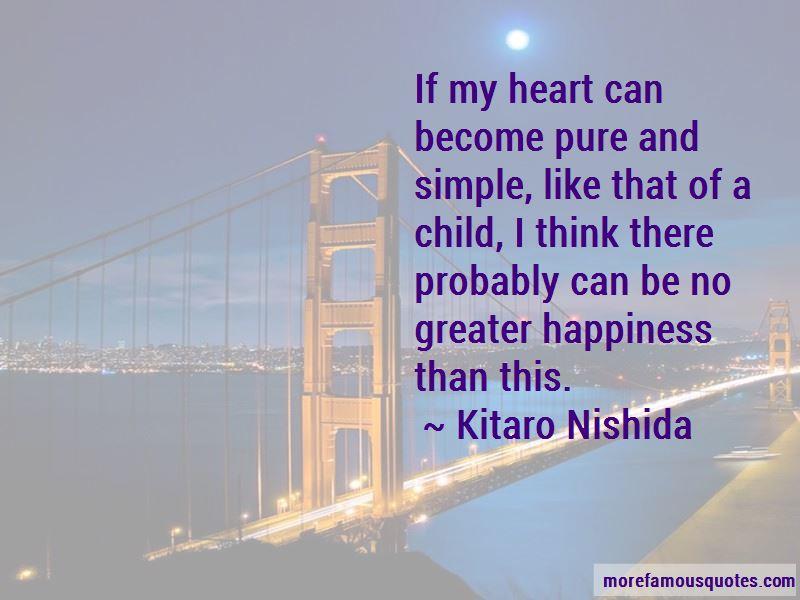 Kitaro Nishida Quotes