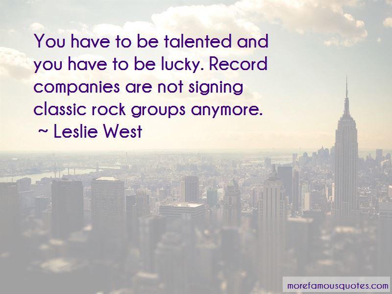 Leslie West Quotes