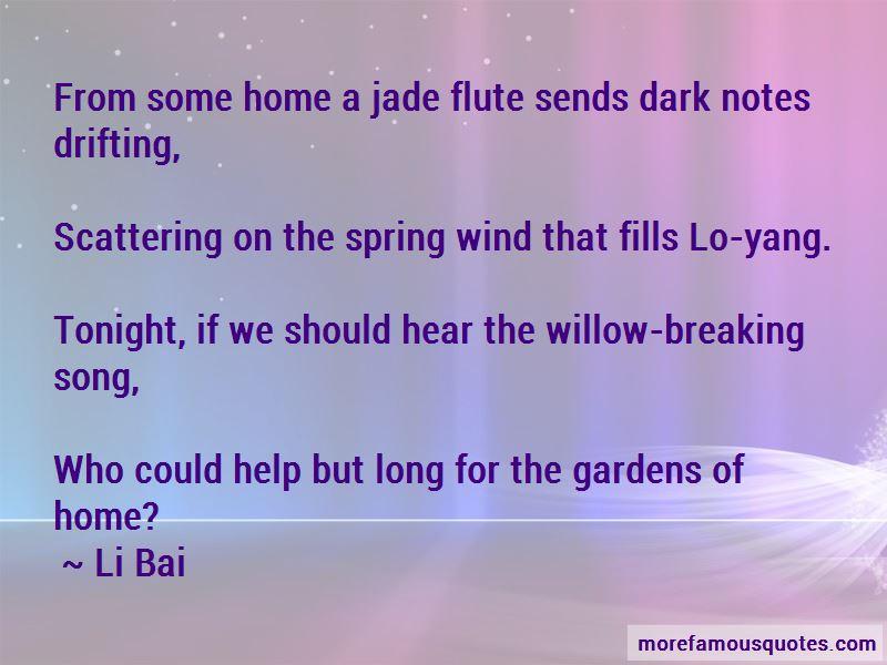 Li Bai Quotes Pictures 4
