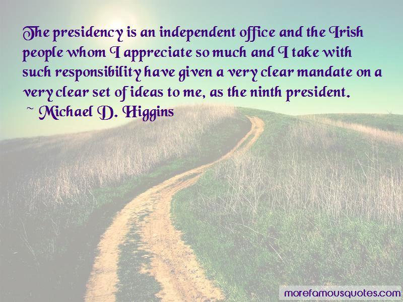 Michael D. Higgins Quotes