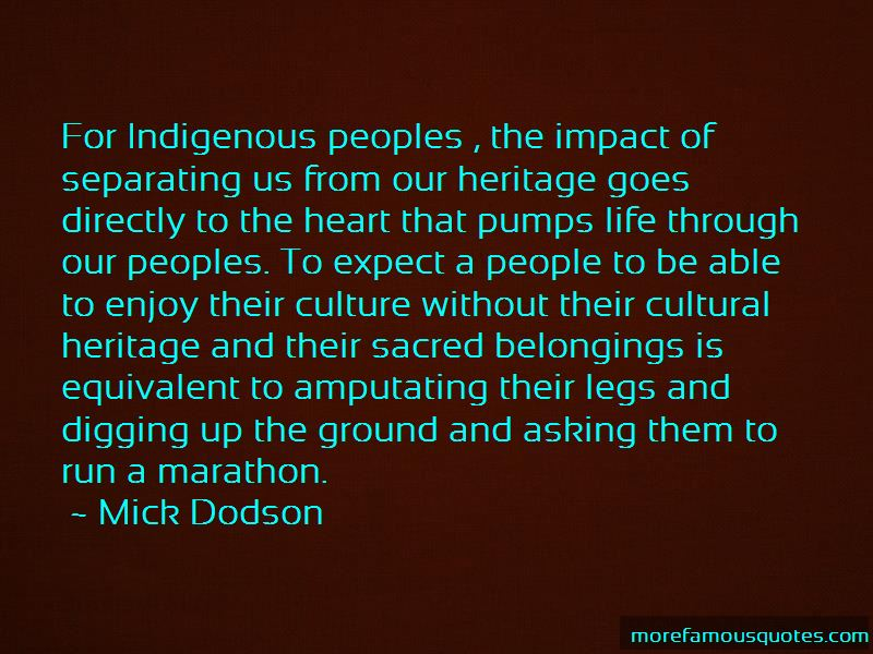 Mick Dodson Quotes Pictures 2