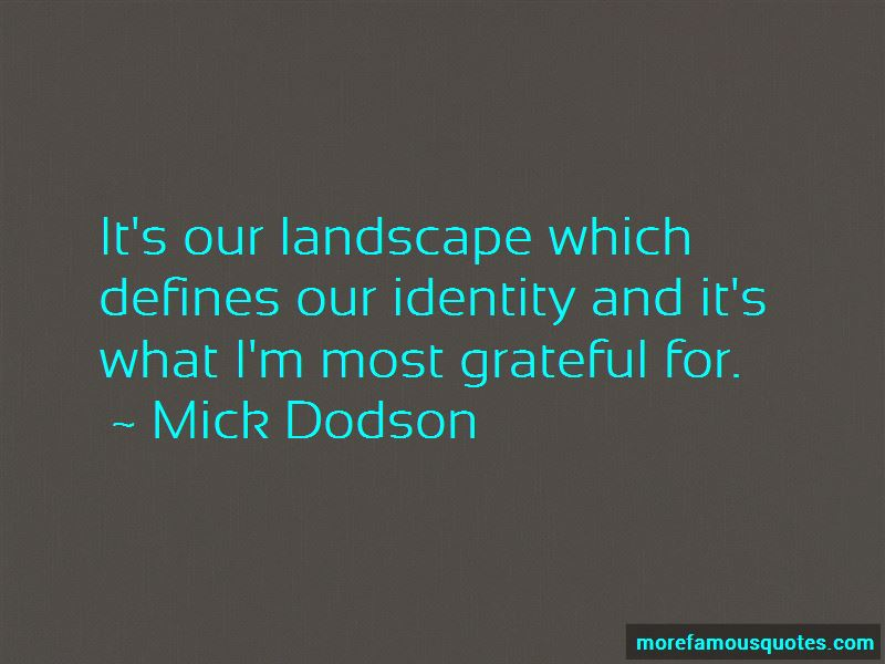 Mick Dodson Quotes Pictures 4