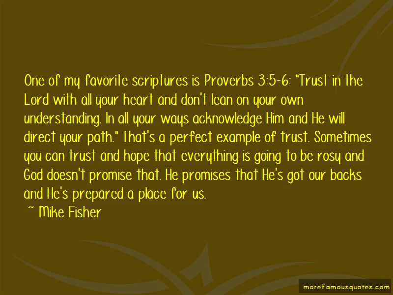 Mike Fisher Quotes Pictures 2
