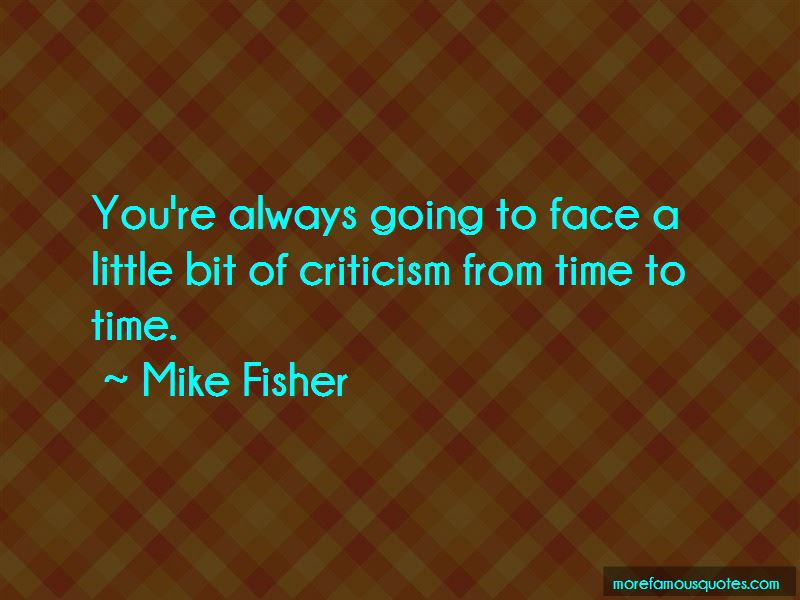 Mike Fisher Quotes Pictures 4