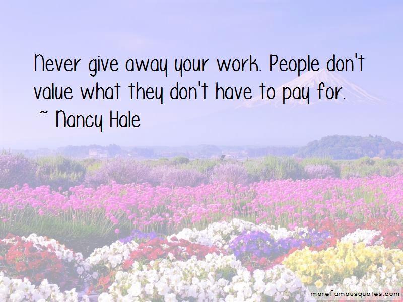 Nancy Hale Quotes Pictures 4